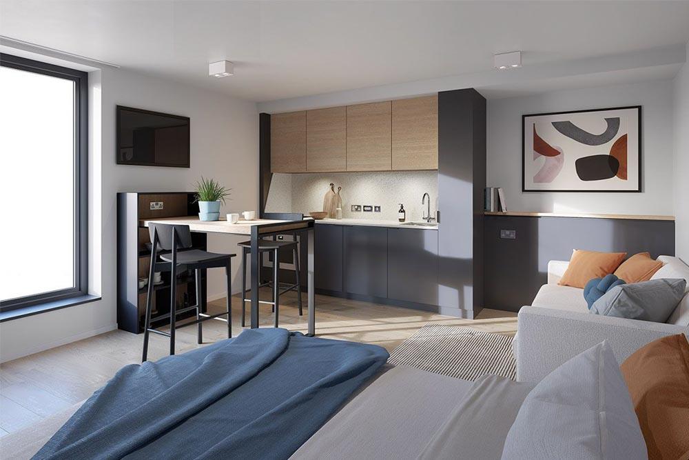Vita Student Birmingham Bedroom