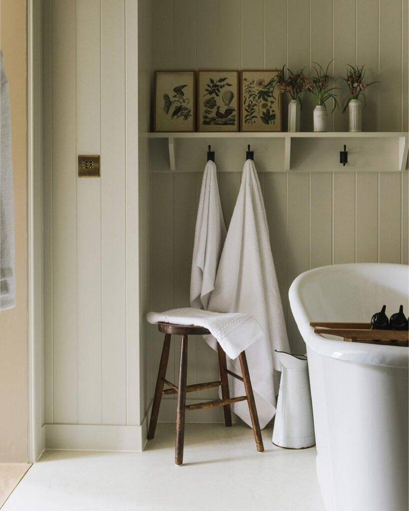 heckfield place guest bathroom