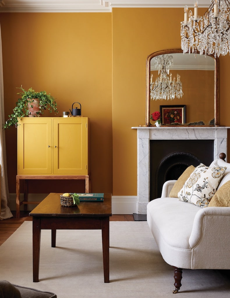 heckfield place ochre room