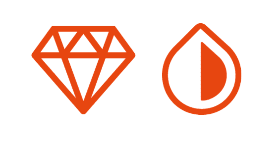 incredible durability and phenomenal opacity icons